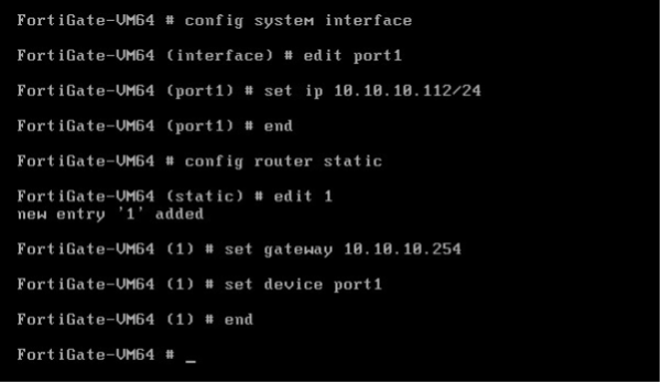 Бесплатный аудит безопасности сети с помощью Fortinet. Часть 2 - 8