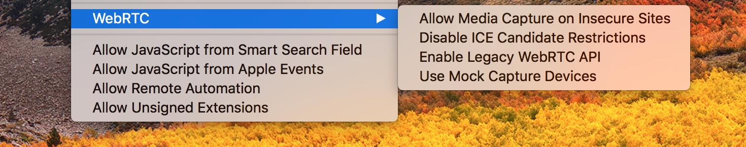 Новые инструменты Safari для отладки WebRTC - 2