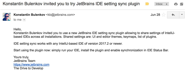 Тестируем новый механизм синхронизации настроек JetBrains IDEs - 1