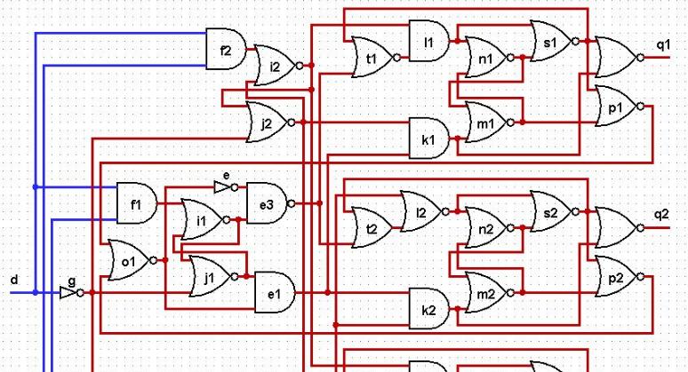 Исследование асинхронной схемы в ModelSim - 1