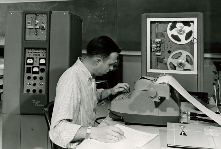 Первые персональные вычислительные машины: LPG-30, Bendix G-15 - 11