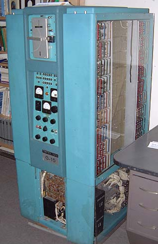 Первые персональные вычислительные машины: LPG-30, Bendix G-15 - 16
