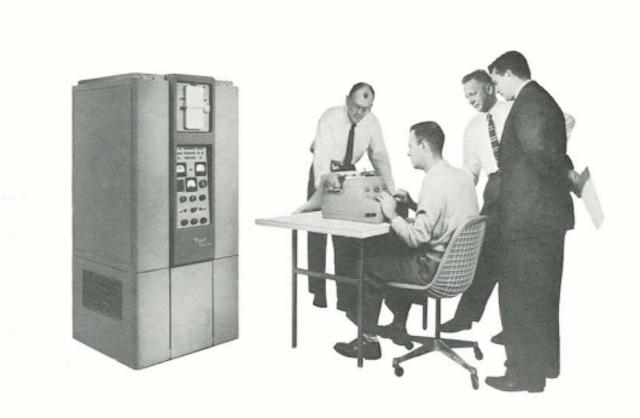Первые персональные вычислительные машины: LPG-30, Bendix G-15 - 18