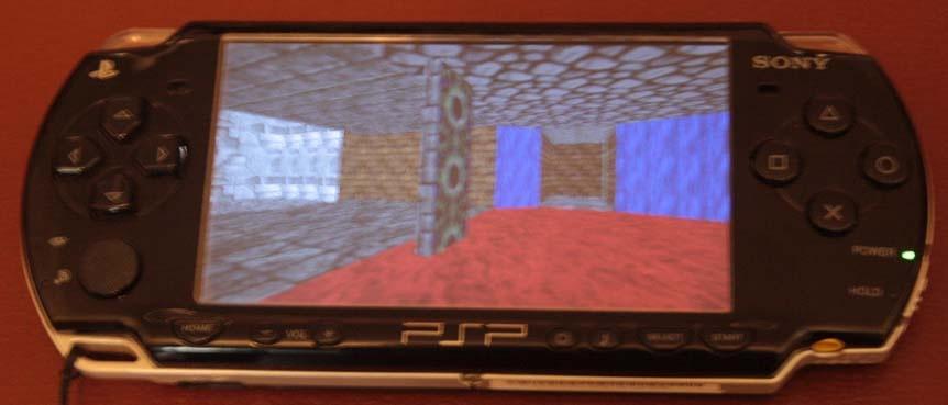 Отображение трёхмерной графики на PSP - 1