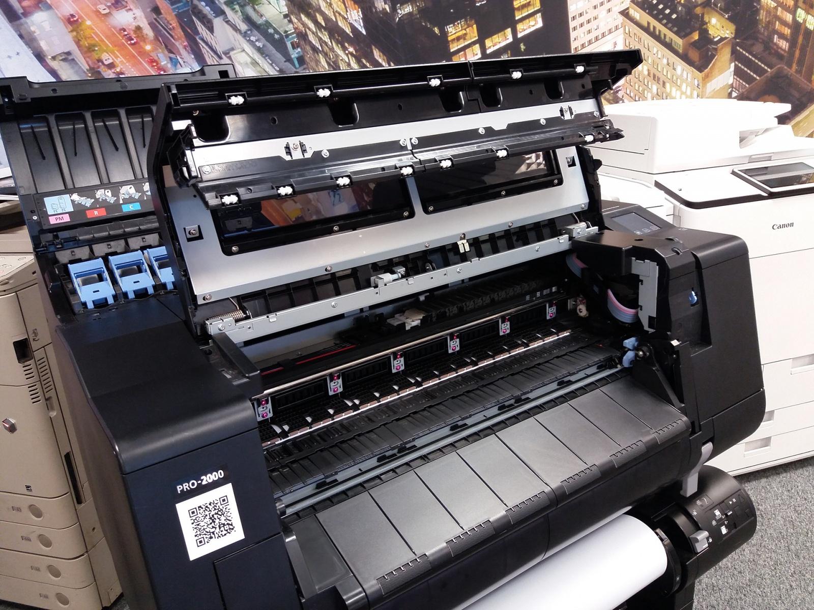 Тонкая красная линия: обзор широкоформатного принтера Canon imagePROGRAF PRO-2000 - 6