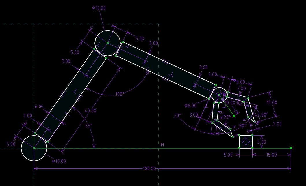 Параметрическое моделирование в САПР SolveSpace: «Неисповедимы пути Решателя» или «Червоточины Ньютона» - 1