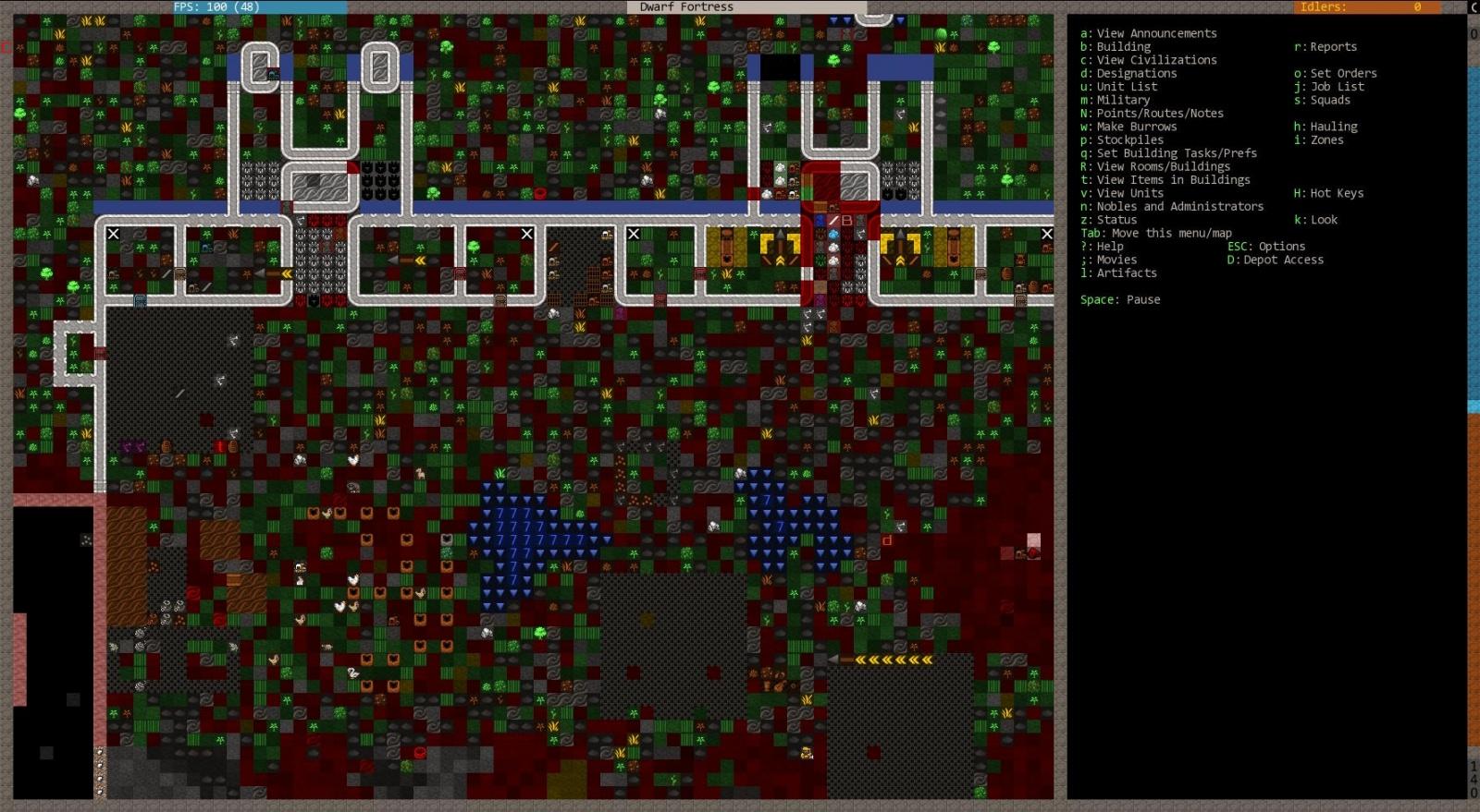 Почему во время apt-get upgrade запускается игра Dwarf Fortress? - 1