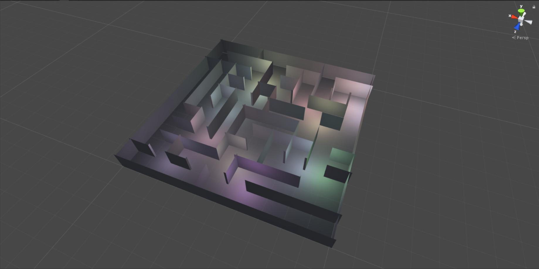 Генерация лабиринта алгоритмом Эллера в Unity - 1