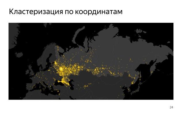 Как создавалась карта с голосами болельщиков для Олимпиады. Лекция в Яндексе - 12