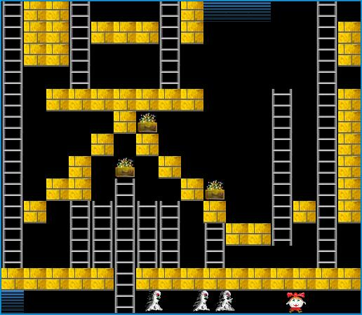 Клонирование игры Lode Runner с первого ПК в СССР «БК-0010» плюс несколько слов о программировании игр в конце 80-х - 1