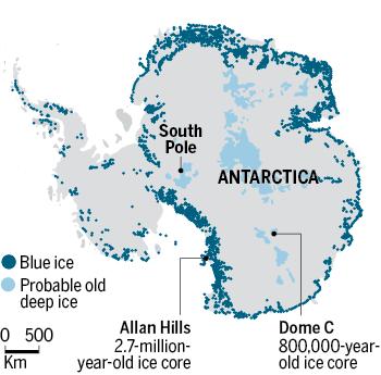 Лед возрастом 2,7 млн лет раскрыл особенности климата Земли в далеком прошлом - 2