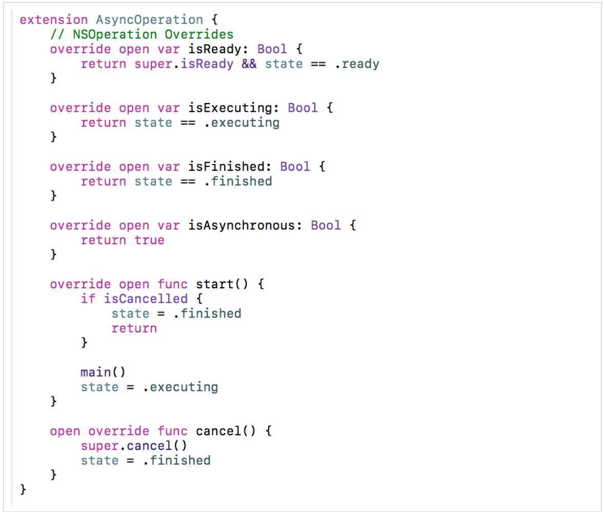 Concurrency в Swift 3 и 4. Operation и OperationQueue - 28