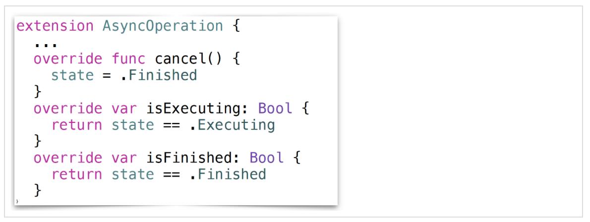 Concurrency в Swift 3 и 4. Operation и OperationQueue - 48