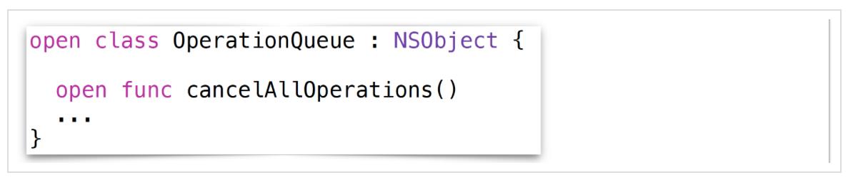 Concurrency в Swift 3 и 4. Operation и OperationQueue - 50