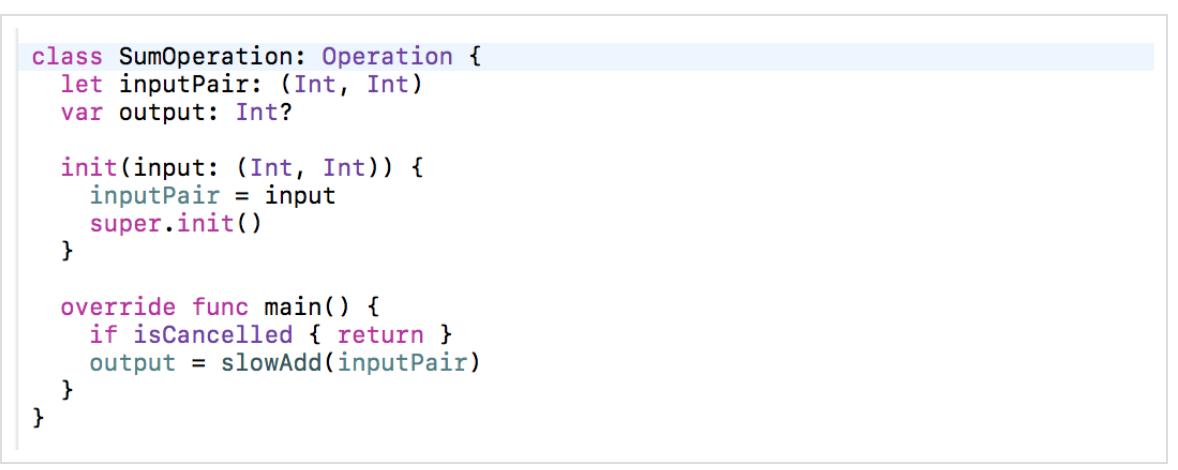 Concurrency в Swift 3 и 4. Operation и OperationQueue - 60