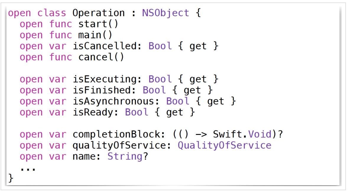 Concurrency в Swift 3 и 4. Operation и OperationQueue - 7
