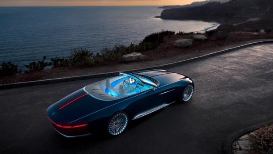 Представлен Mercedes-Maybach 6 Cabriolet