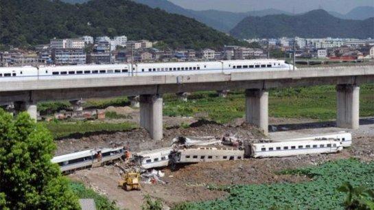 Китай возобновил самый быстрый поезд в мире