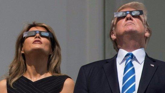Солнечное затмение: граждане США пристально смотрят в небо
