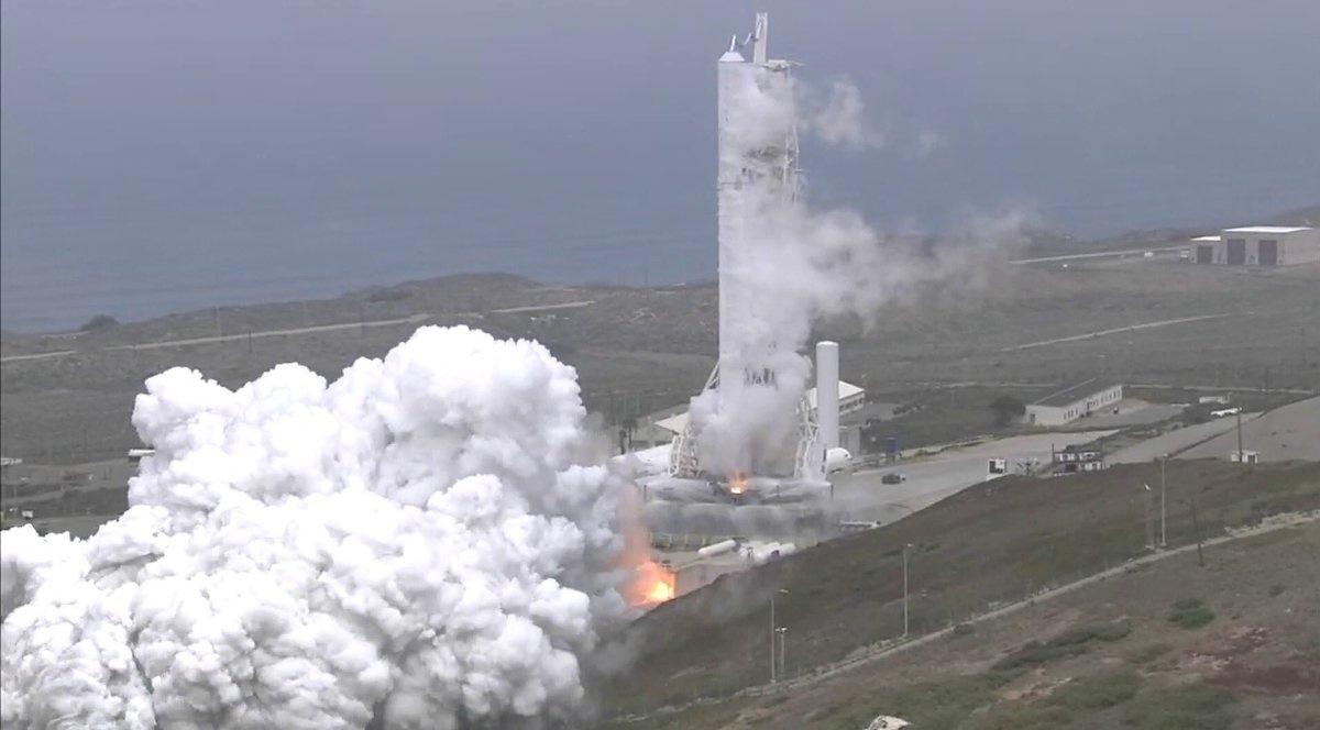 SpaceX провела испытания Formosat-5 Falcon 9, с планами очередной посадки на автономную платформу - 1