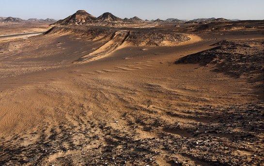 Черная пустыня раньше была заселена людьми и животными