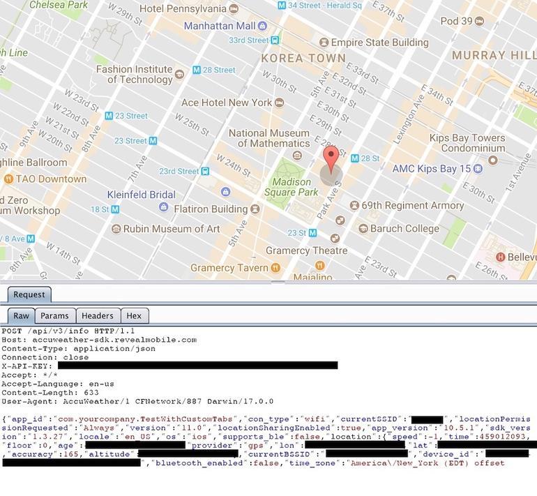 AccuWeather для iOS пересылает данные пользователей маркетологам - 3