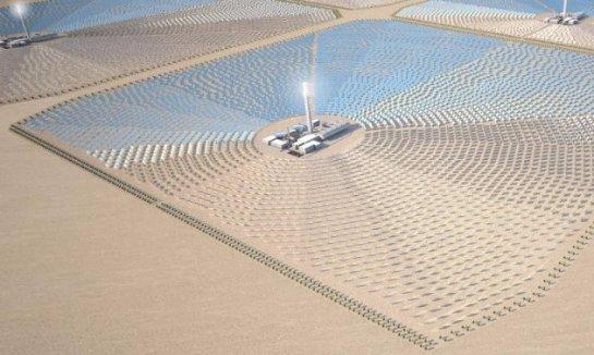 Электроэнергия, выработанная в Сахаре, будет поставляться в Европу