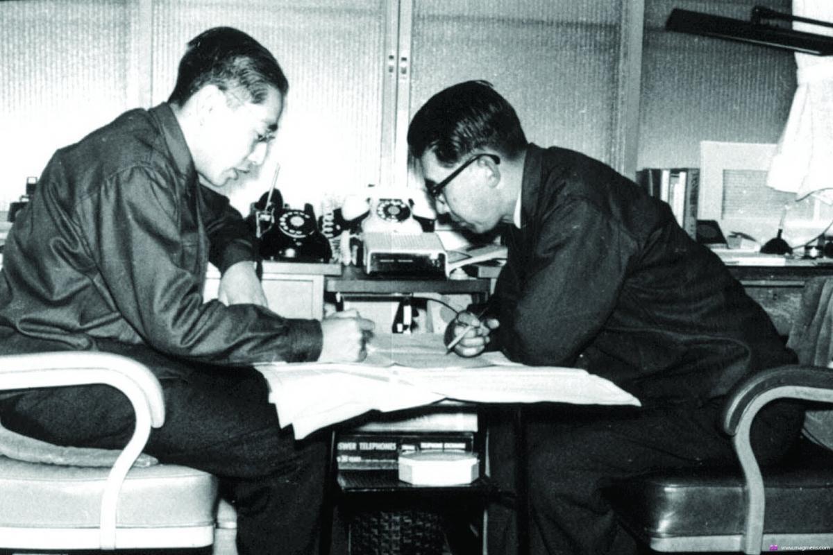 Личность и звук: Акио Морита – история потомственного сакедзукури, путь создателя SONY - 5