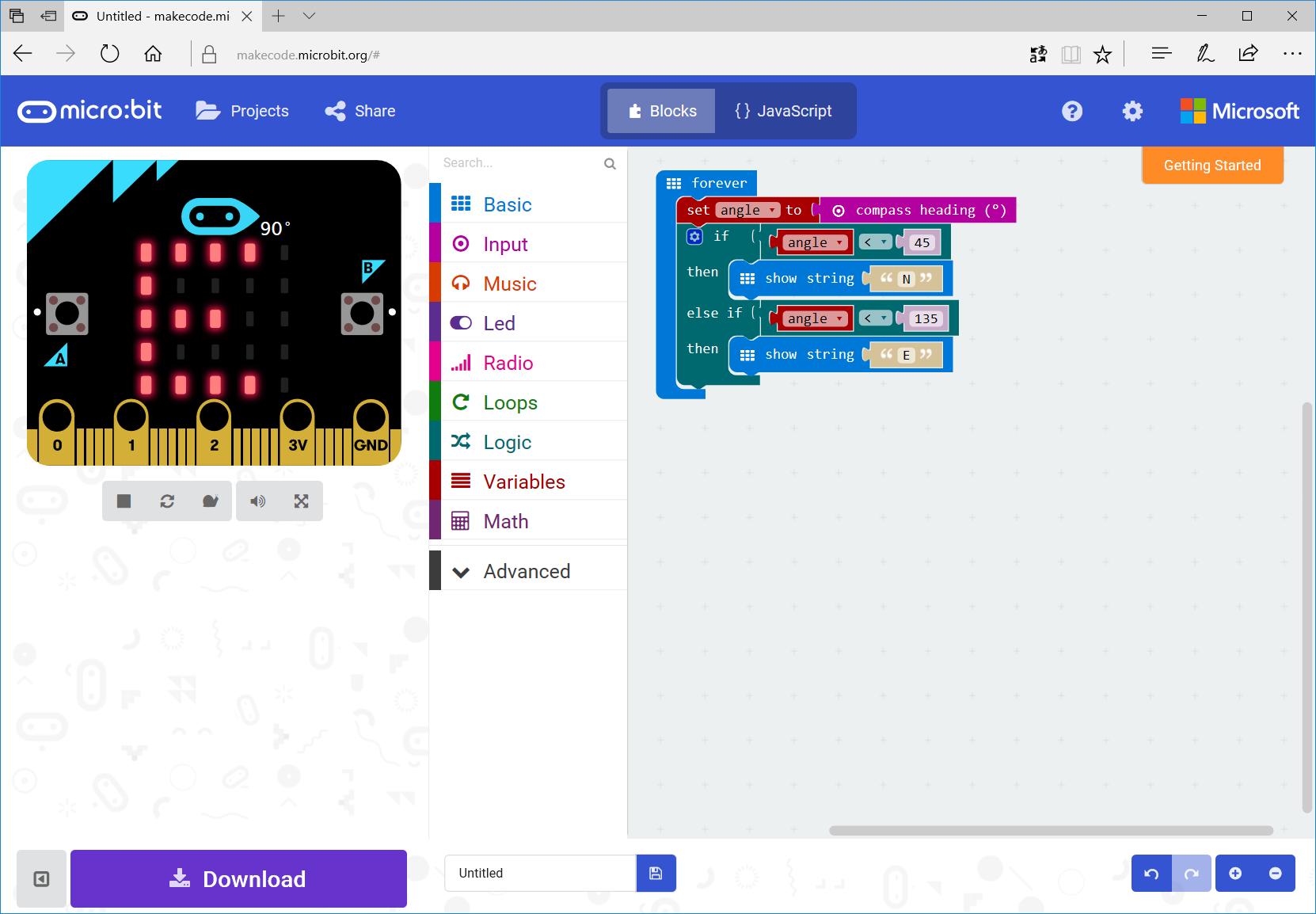 BBC Micro:bit — детский обучающий микрокомпьютер: возможности ввода-вывода - 4