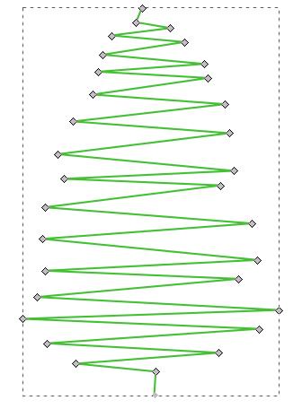 Inkscape: ms_meme и праздничное дерево - 3