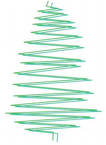 Inkscape: ms_meme и праздничное дерево - 4
