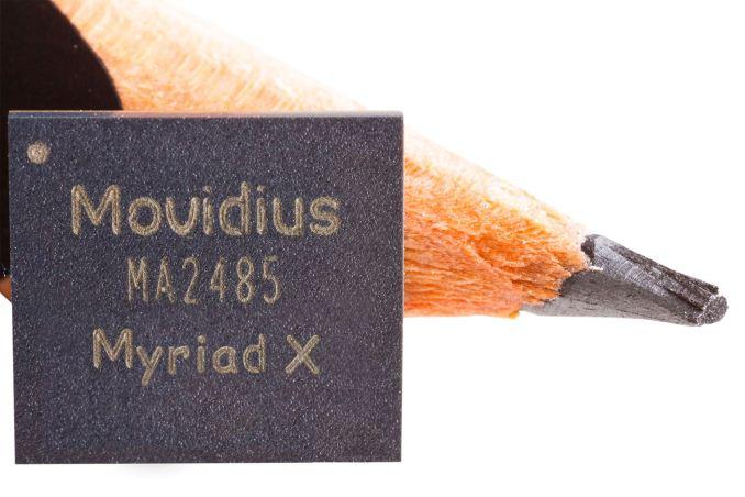 Movidius Myriad X — центр восприятия и анализа - 1