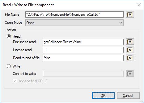 Создание приложения для исходящего обзвона в среде разработки 3CX Call Flow Designer - 6