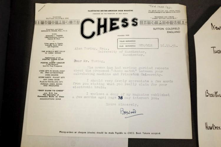 В кладовой Манчестерского университета нашли утерянные письма Алана Тьюринга - 2