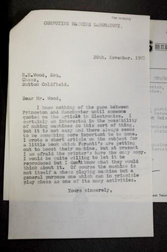 В кладовой Манчестерского университета нашли утерянные письма Алана Тьюринга - 3