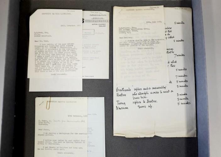 В кладовой Манчестерского университета нашли утерянные письма Алана Тьюринга - 4
