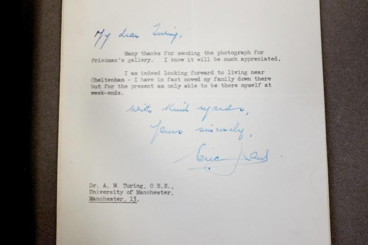 В кладовой Манчестерского университета нашли утерянные письма Алана Тьюринга - 6