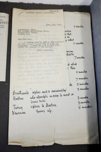 В кладовой Манчестерского университета нашли утерянные письма Алана Тьюринга - 7
