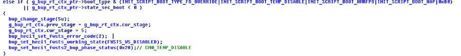 Выключаем Intel ME 11, используя недокументированный режим - 13