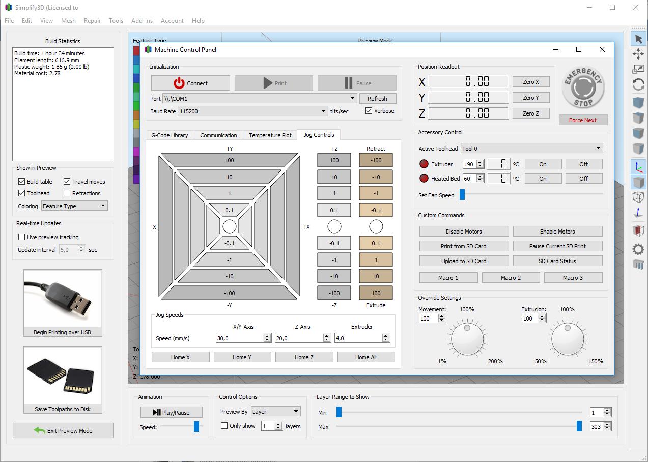 Обзор Simplify3D 4.0: новая версия слайсера - 8