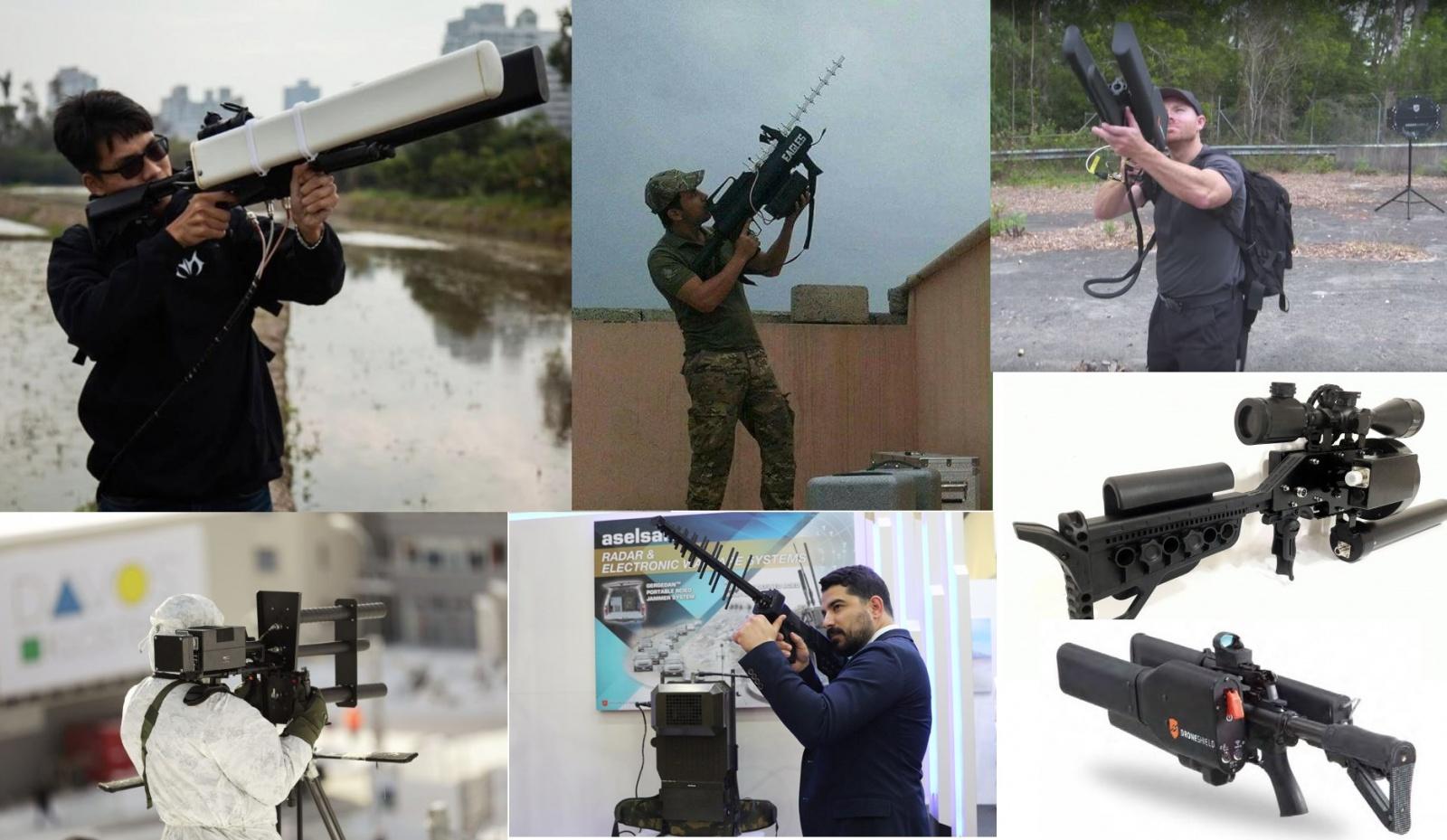 Ружья против дронов: зарубежные и отечественные - 1