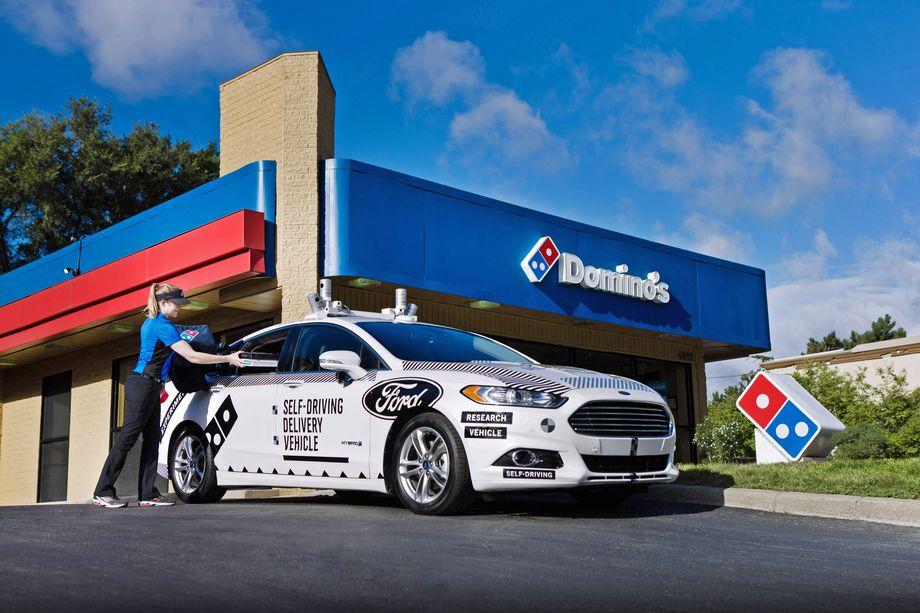 Автономные автомобили Ford поработают курьерами по доставке пиццы - 1