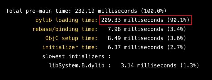 Оптимизация времени запуска iOS-приложений - 13