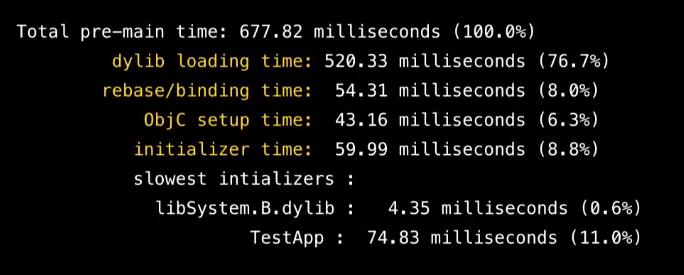 Оптимизация времени запуска iOS-приложений - 4