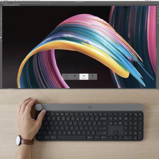 Logitech запустила беспроводную клавиатуру Craft на IFA 2017