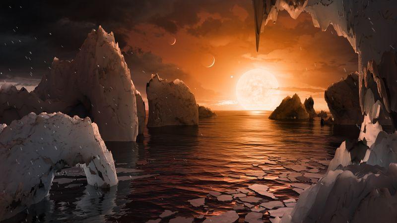 Данные c «Хаббла» показывают, что на планетах системы TRAPPIST-1 может быть вода - 1
