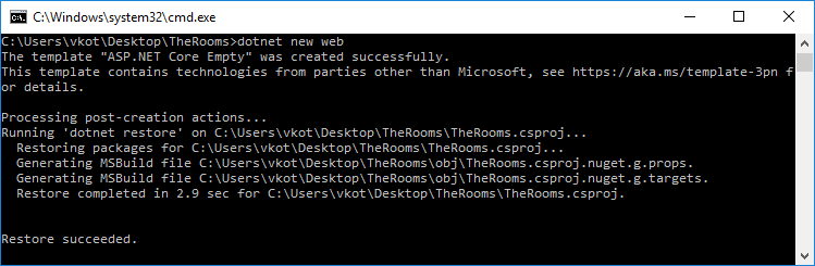 Логическая игра с нуля на ASP.NET Core 2, поиграем? - 2
