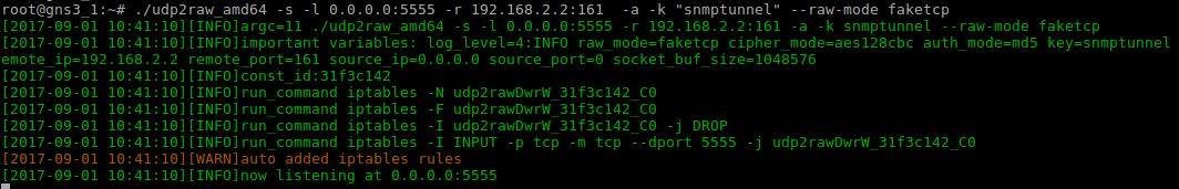 Маскировка UDP трафика в TCP-ICMP при помощи udp2raw - 5
