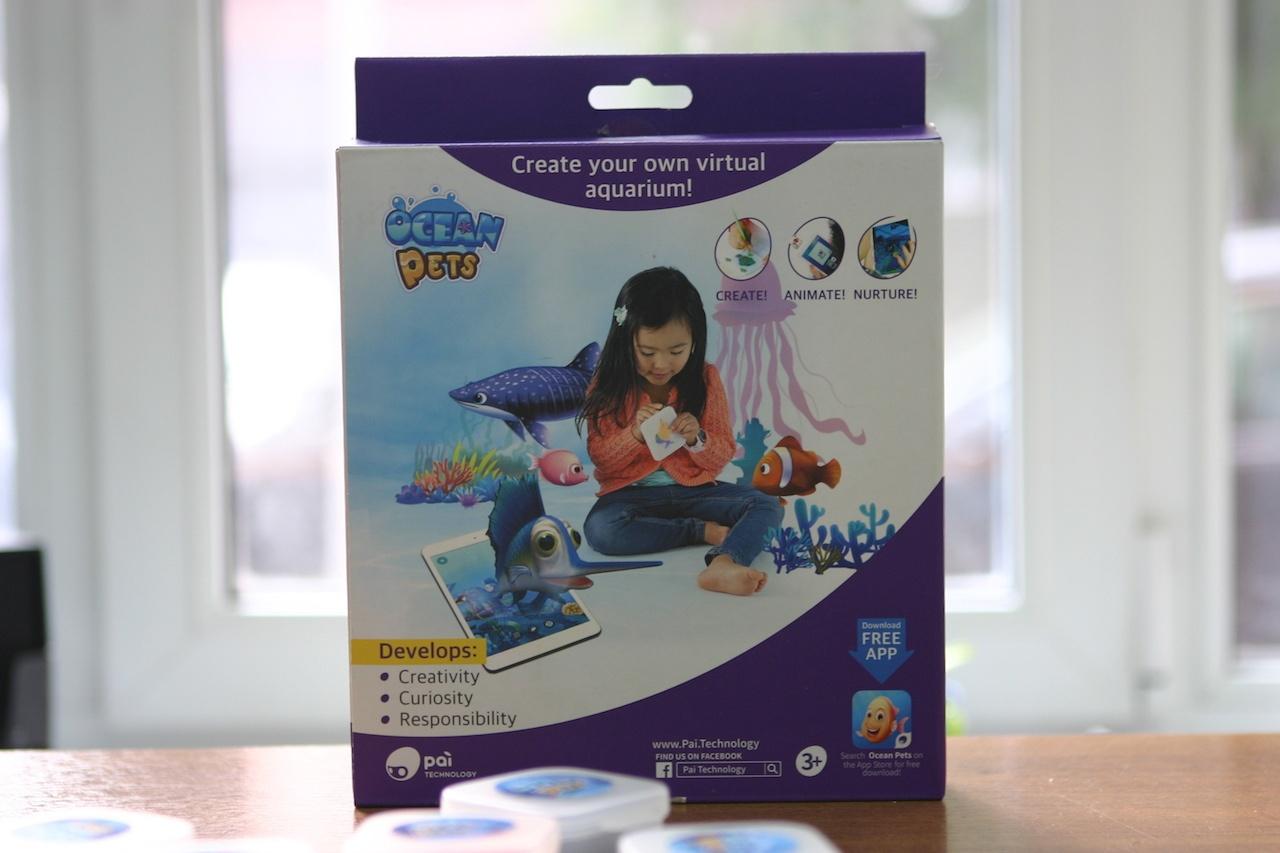 Мобильный аквариум, или еще один пример дополненной реальности для детей Ocean Pets - 1