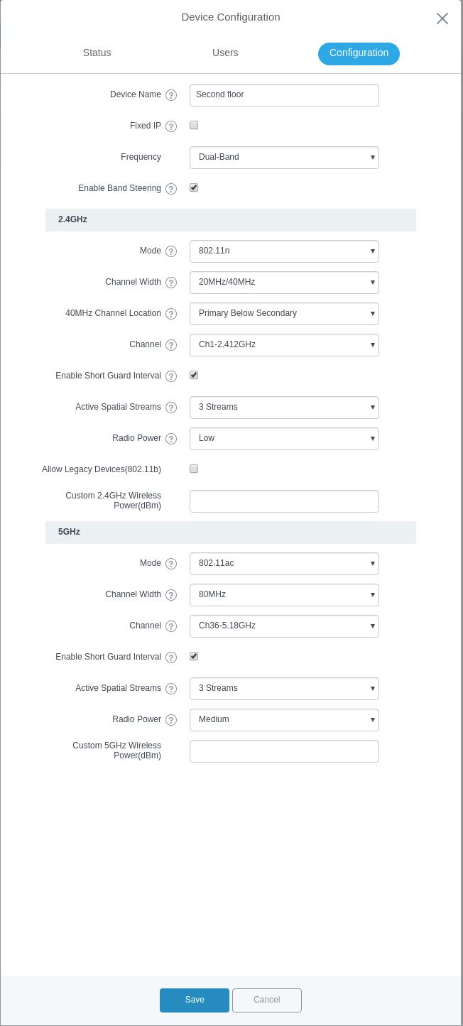 Обзор на wifi точки доступа Grandstream GWN7610 - 22